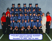 Bassetti Police Academy Group Photo